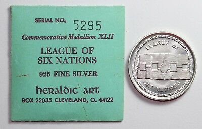 Heraldic Art Silver Medal - League of Six Nations