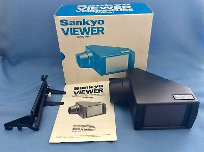 Sankyo SVW-761Viewer For Sound 500 501 700 Stereo 800 Film Projectors New?
