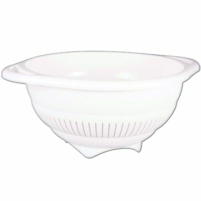 "13"" Large Plastic Deep Colander Sieve Cooking Drainer Pasta Spaghetti Strain"