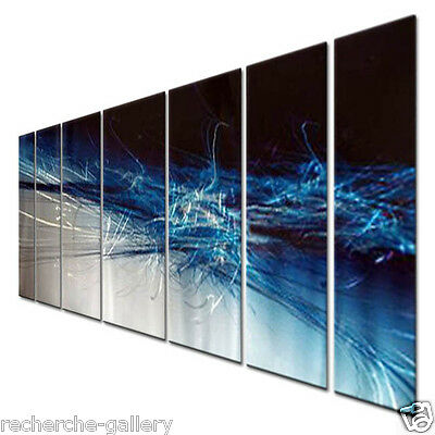 Metal Art Hand Sanded Wall Decor for Modern Settings Metal Wall Sculpture