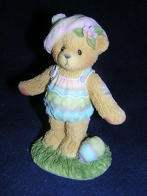 CHERISHED TEDDIES Carlton Cards Exclusive ESTHER EASTER NEW Never Displayed RARE