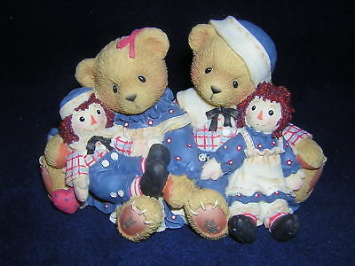 CHERISHED TEDDIES ROSEMARIE & RONALD Raggedy Ann & Andy NEW Never Displayed