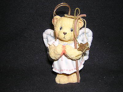 CHERISHED TEDDIES ANGEL Ornament with Star and Staff NEW!!! CHRISTMAS