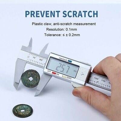150mm / 6inch LCD Digital Electronic Vernier Caliper Gauge Micrometer Ruler New