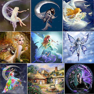 Beauty Wizard DIY 5D Diamond Painting Embroidery Cross Crafts Stitch Home 2018