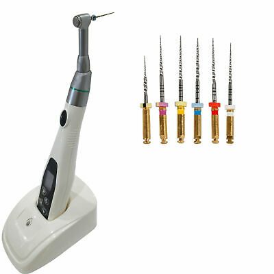 Dental Wireless Endodontic Endo Motor Handpiece 16:1 + Niti Rotary File