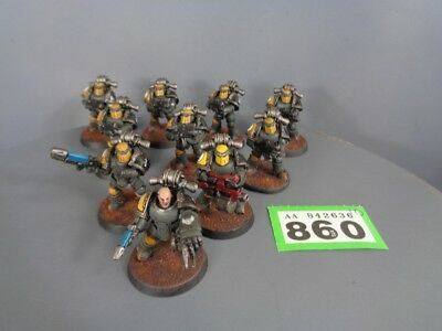 Warhammer 40,000 Space Marines Imperial Tactical MK III Squad 860
