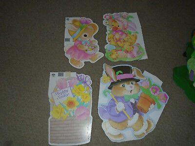 4 Vintage Eckerd Easter Die Cuts-Paper Magic