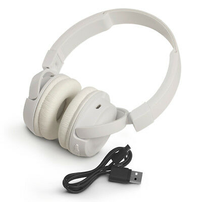 JBL T450BT Wireless On-Ear Headphones with Built-In Remote and Microphone