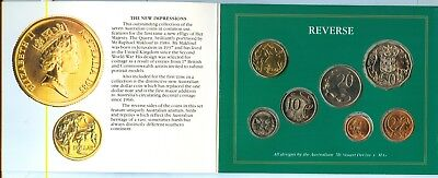 1985 Royal Australian Mint Set Uncirculated Coin Collection