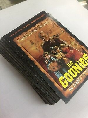The Goonies Card Set 1 Completo Topps