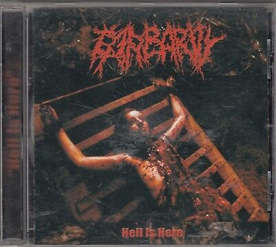 BARBARITY - hell is here CD