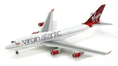Gemini Jets GJVIR1503 Virgin Atlantic Boeing 747-400 G-VXLG Diecast 1/400 Model