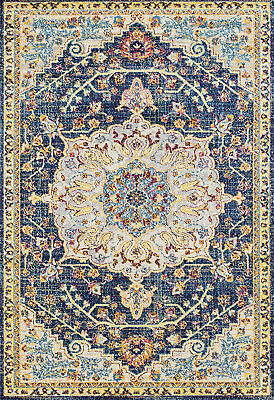 United Weavers Pink Transitional Casual Bordered Area Rug Geometric 713 21081