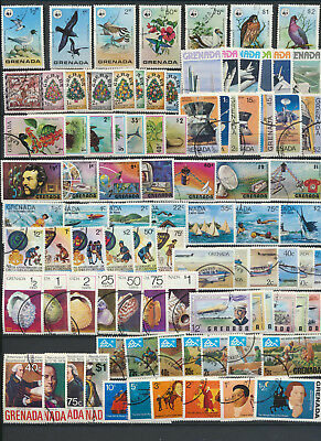 Topcial Complete Sets collection Grenada 13 Complete CTO Sets $27.80 Scott Value