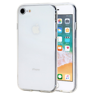 iPhone8 Protection Case Clear Slim Shockproof Silicone Ultra-thin Back TPU Cover