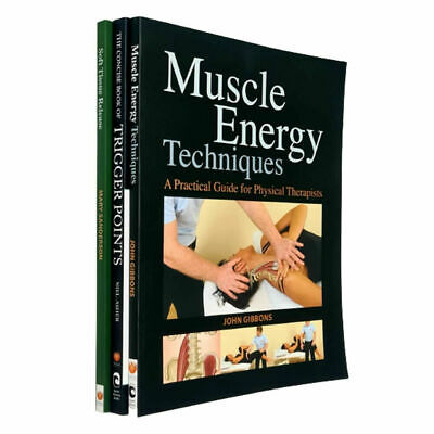 Soft Tissue Release,Muscle Energy Techniques 3 Books Collection Set Concise Book