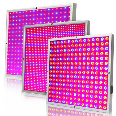 45W 120W LED Grow Light Panel Indoor Plant Hydroponic Veg Flower Seed Red Blue
