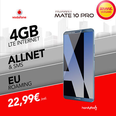 Huawei Mate 10 Pro Vodafone Young M Handyvertrag nur 22,99€ mtl. 4GB LTE