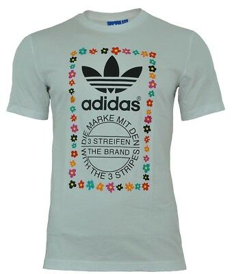0d93e895de3d0 Adidas Pharrell Williams Graphic Tee Men s Originals Trefoil T-Shirt White