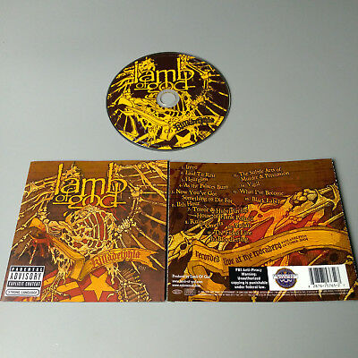 Lamb Of God - Killadelphia 2006 USA CD MINT #1041