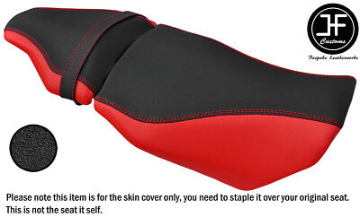 Red & Grip Ds St Vinyl Custom Fits Benelli Tnt 125 17-18 Front Rear Seat Covers