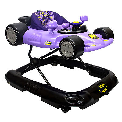 Kids Embrace Batgirl Baby Activity Station Race Car Walker with Lights & Sounds