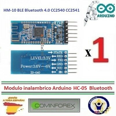 Modulo Inalambrico Arduino Android IOS,CC2540, CC2541 HC05 Bluetooth, CPPS   I33