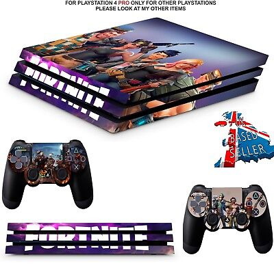 Fortnite Ps4 Pro Skins Decals Playstation 4 Wrap Textured