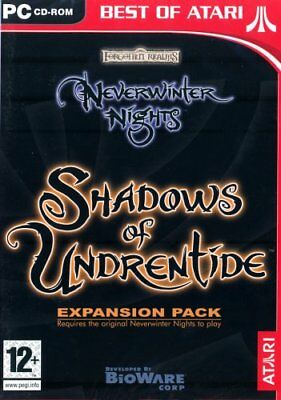 espansione neverwinter nights shadows of undrentide