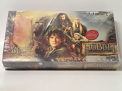 HOBBIT: Desolation of Smaug sealed Trading Card Box! 24 Packs! Autographs!