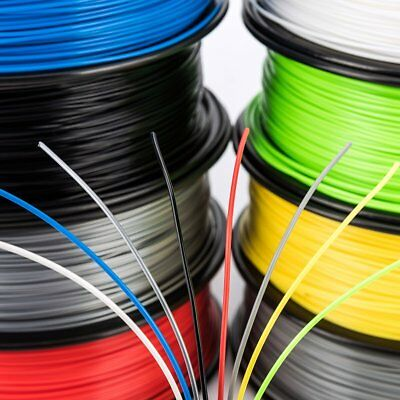 3D Printer Filament 1.75mm PLA 1KG/Roll Multi-colours Engineer Drawing Art AU