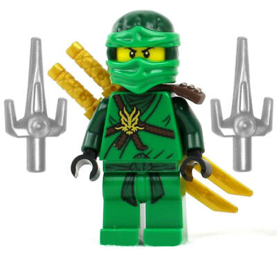 8 LEGO Ninjago Movie Minifigure Lot All figures green red blue ...