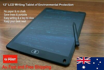 8.5'/12' LCD eWriter Drawing Memo Message Boogie Board Gift Idea AU STOCK