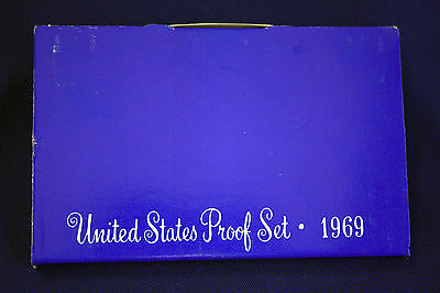 1969-s U.S.Proof set. Genuine. complete and original as issued by US Mint.