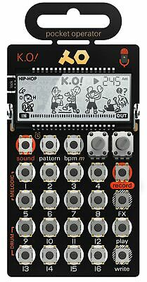 Teenage Engineering PO-33 K.O! Micro-Sampler Step-Sequencer FX - Melodie + Drum