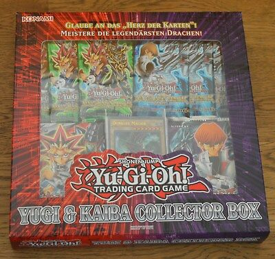 Yu-Gi-Oh! Collectors Box - Yugi & Kaiba Deutsch Neu & OVP