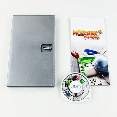 PlayStation Portable - PSP Game Mercury Meltdown With Manual and Case #C