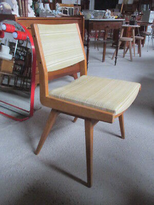 4 chaises vintage. Style Scandinave. 1960.