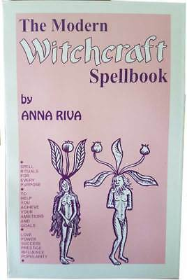 NEW Modern Witchcraft Spellbook  by Anna Riva BMODWIT3SP