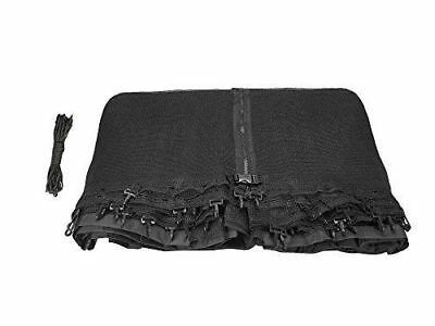 Trampoline Replacement Net Fits For 12ft Frames Using 4 Poles w/ Top Ring Enclos