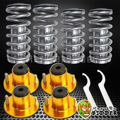 4 Complete Strut//Shock Coil Springs w// Mount For 95-96 Toyota Camry V6 Coilover