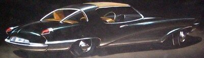 c. 1949 Studebaker Automobile Detroit Styling Art Painting Raymond Loewy md964