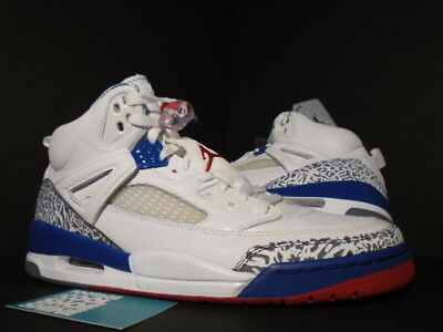 premium selection b2508 424ac 2007 Nike Air Jordan SPIZIKE WHITE TRUE BLUE FIRE RED CEMENT GREY  315371-163 11