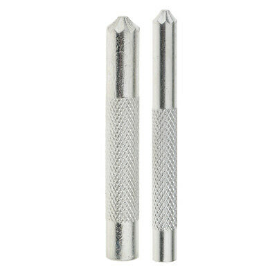 2Pcs 8/11mm Eyelet Punch DIY Tool Hole Cutter Set For Leather Craft Clothing