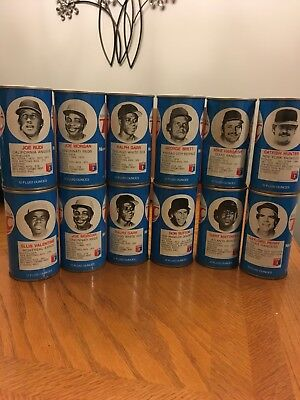 1978 Rc Cola Baseball Cans Players 12 Cans Used