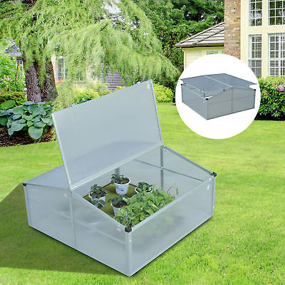 "39"" Portable Greenhouse Cold Garden Frame Plants Seeding Raised Outdoor"