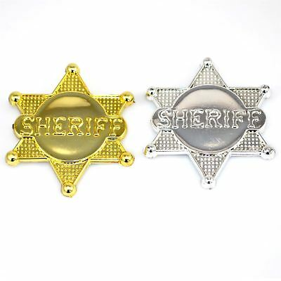 Cowboy Sheriff Badge County Police Badge Party Bag Filler, Party Accessories