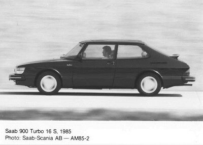 1985 Saab 900 Turbo 16 S ORIGINAL Factory Photo oua2495