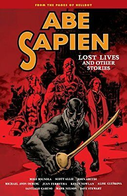 1: Abe Sapien Volume 9 by Mike Mignola Paperback BRAND NEW